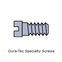 Rayban Hinge Dura-Tec Speciality Screws ~ 1.37mm Thread ~ Gold #05/139/0200