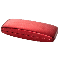 Hilco Striated Spectacle Case ~ 07/815/9000  Red