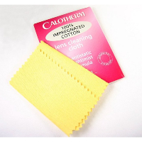CALOTHERM Impregnated Spectacle Lens Cleaning Cloth ~ Small Size