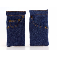 Soft Spring Top Spectacle Case ~ Jeans