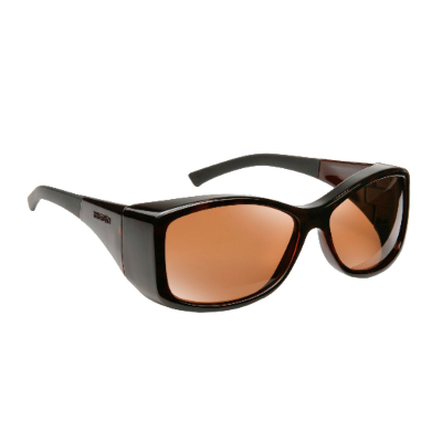 Havens Fit Over Polarized Sunglass ~ Balboa ~ Tortoise/Amber