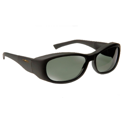 Havens Fit Over Polarized Sunglass ~ Solona ~ Black/Grey