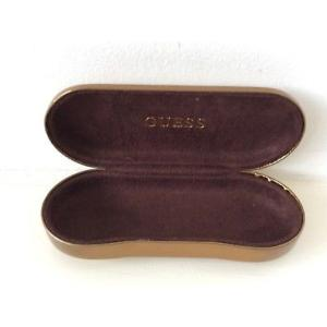 Designer Spectacle Case from Guess by Marciano. Bronze