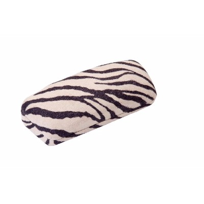 HILCO Madrid Spectacle Case ~ Black & Ivory Zebra ~ 07-410-4000