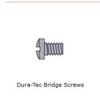 Dura-Tec Spectacle Trim Screws ~ 1.4mm Thread ~ Silver 25/110/0000