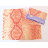 Look Designer's Eye Microfiber Lens Cleaning Cloth. Orange