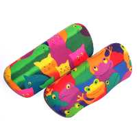 Optoplast Kids Spectacle Case Cool ~ Cats & Frogs