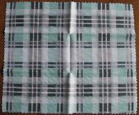 HILCO Microfibre Cleaning Cloth ~  Green Plaid 44/643/0999