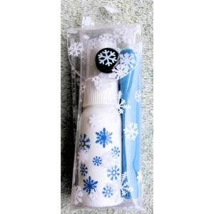 Hilco Christmas Snowflake Lens Cleaning Kit. Cloth and Cleaning Spray