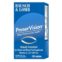 Bausch & Lomb Dietary Supplement  ~ PreserVision 120 tablets