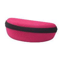 Hilco Spectacle Case Dakota Sport  ~ Zip Round Case Fuschia ~ 07/901/1000