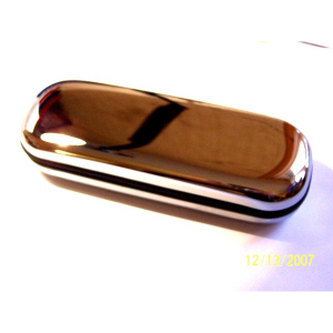 Harley Spectacle Case ~ Polished Steel