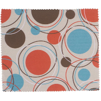 HILCO Microfibre Cleaning Cloth ~  Fall Circles 44/637/0999