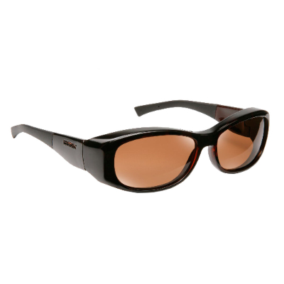 Haven Fit Over Polarized Sunglass ~ Solona ~ Tortoise/Amber