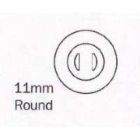 Hilco Silicone Nose Pads ~ 1x Pair Round 11mm Push On 25/704/0000