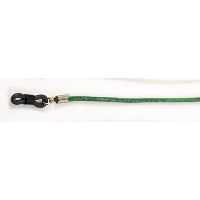Real Leather Spectacle Cord ~ Green