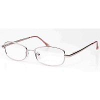 Ladies Metal Spectacle Frame ~ Flex Sides ~ Pink Gold (D9)
