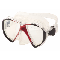 HILCO ~ Adult Corrective Diving Mask ~ Red 33/550/1000