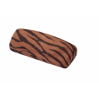 HILCO Spectacle Case Madrid ~ Brown & Black Zebra ~ 07-410-5000