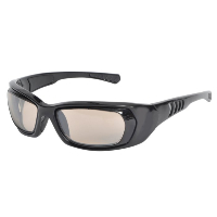 LEADER REFLECTIVE ~ Rx Pro Sport Optics by Hilco ~ Black