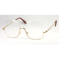 Snooker Spectacles ~ Semi Rimless Metal Supra