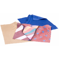 HILCO Microfibre Cleaning Cloth Tri-Pack ~ Spring Ties 34/688/2999