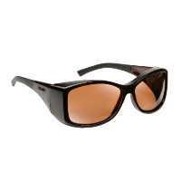 Haven Fit Over Polarized Sunglass ~ Balboa ~ Tortoise/Amber