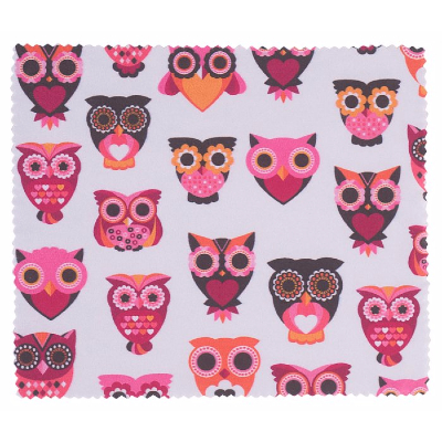 HILCO Kids Microfibre Cleaning Cloth ~ Owl's 44/671/0999