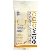 Calowipe, Optical Cleaning Moist Wipes from Calotherm. Resealable Pack of 20.