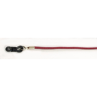 Real Leather Spectacle Cord ~ Maroon