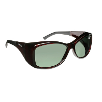 Haven Fit Over Polarized Sunglass ~ Balboa ~ Wine/Grey