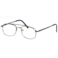 Metal Spectacle Frame ~ Flex Sides ~ Gunmetal (A5)