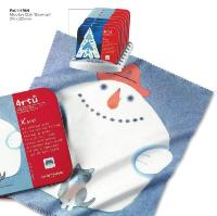 CentroStyle Christmas Microfibre Snowman Cloth in Tin Box ~ Perfect Stocking filler!