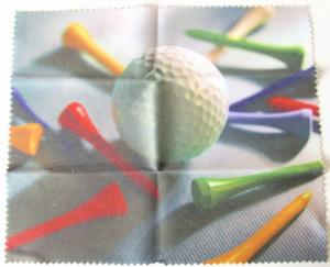 HILCO Optiwipe Microfibre Cleaning Cloth ~ Golf Ball and Tees 34/690/5199