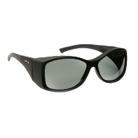 Haven Fit Over Polarized Sunglass ~ Balboa ~ Black/Grey