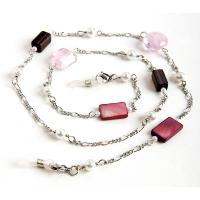 HILCO BEAD & PEARL SPECTACLE CHAIN ~ 08/209/0000 Pink