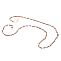 HILCO PEARL BEAD COLLECTION SPECTACLE CHAIN ~ Cancun Sand 08/412/8920