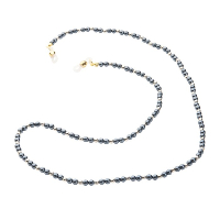 HILCO PEARL BEAD COLLECTION SPECTACLE CHAIN ~ Dolphin Grey 08/412/8910