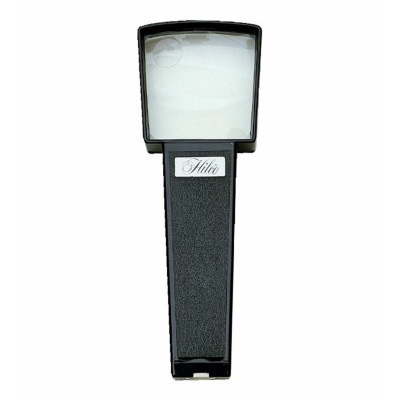 Hilco Large Illuminated Hand Magnifier 2x / 4x~ 10/116/0000