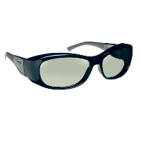 Haven Fit Over Polarized Sunglass ~ Solona ~ Midnight Blue/Grey