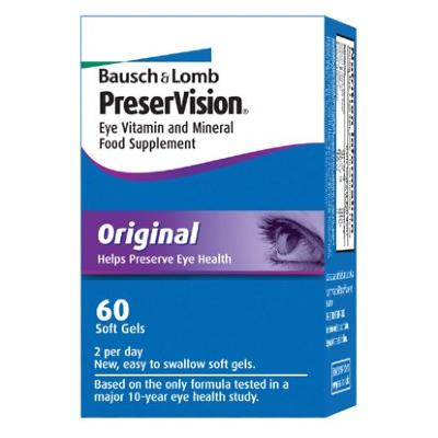 Bausch & Lomb Dietary Supplement ~  PreserVision Original